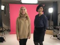 Sarah B. and Hala M. are Interviewed